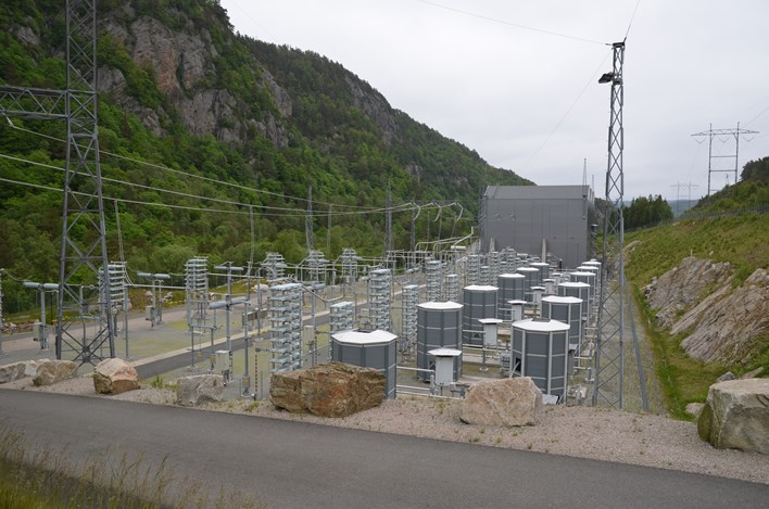 Picture of a sub station